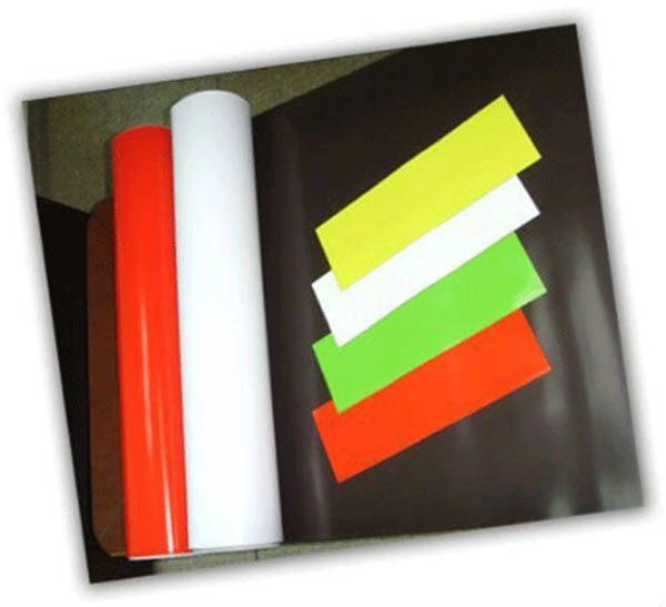 Nam châm dẻo màu được dùng để làm gì