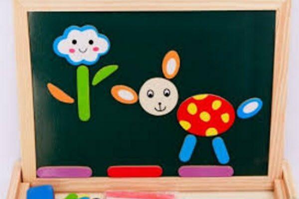 Nam châm dẻo và những giúp ích với trẻ nhỏ