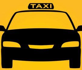 Làm logo nam châm dẻo dán xe taxi, xe du lịch